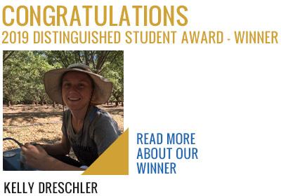 2019 Student Award Winner