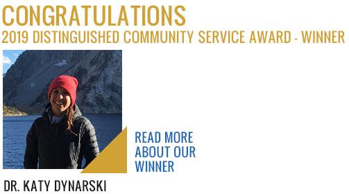 2019 Community Service Award Winner