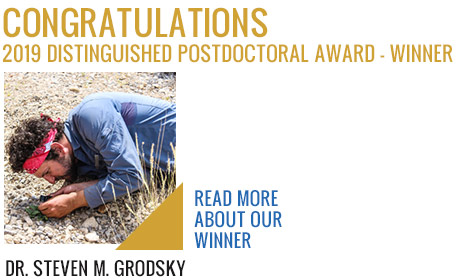 2019 Postdoctoral Award Winner