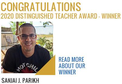 2020 Distinguished Teacher Award