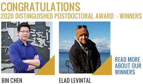 2020 Distinguished Postdoctoral Award